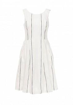 Платье, Trussardi Jeans, цвет: белый. Артикул: TR016EWOOQ09. Женская одежда