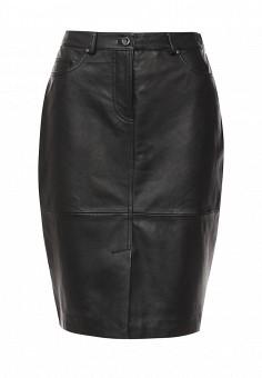 Юбка, Trussardi Jeans, цвет: черный. Артикул: TR016EWOOQ18. Женская одежда