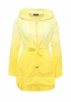 Плащ, Twin-Set Simona Barbieri, цвет: желтый. Артикул: TW005EWOWK13. Премиум / Одежда / Верхняя одежда / Плащи и тренчкоты