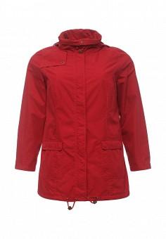 Парка, Ulla Popken, цвет: красный. Артикул: UL002EWPRS21. Женская одежда / Верхняя одежда / Парки