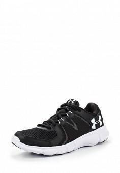 Кроссовки, Under Armour, цвет: черный. Артикул: UN001AWOJA94. Женская обувь / Кроссовки и кеды
