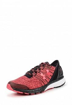 Кроссовки, Under Armour, цвет: красный. Артикул: UN001AWOJA95. Женская обувь / Кроссовки и кеды