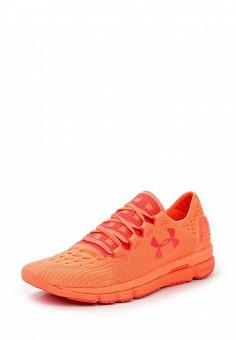 Кроссовки, Under Armour, цвет: оранжевый. Артикул: UN001AWTVL06. Женская обувь / Кроссовки и кеды