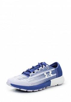 Кроссовки, Under Armour, цвет: синий. Артикул: UN001AWTVM31. Женская обувь / Кроссовки и кеды