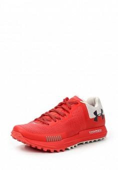 Кроссовки, Under Armour, цвет: красный. Артикул: UN001AWTVM36. Женская обувь / Кроссовки и кеды