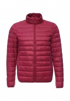 Пуховик, United Colors of Benetton, цвет: фиолетовый. Артикул: UN012EMPIE84. Мужская одежда / Верхняя одежда / Пуховики и зимние куртки