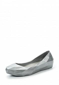Балетки, United Nude, цвет: серебряный. Артикул: UN175AWRNY39. Премиум / Обувь / Балетки
