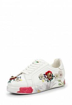 Кеды, V&Florence, цвет: белый. Артикул: VF001AWQUZ59. Женская обувь / Кроссовки и кеды