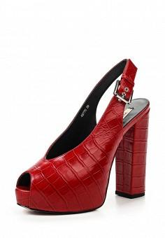 Босоножки, Vitacci, цвет: красный. Артикул: VI060AWPTS20. Женская обувь / Босоножки