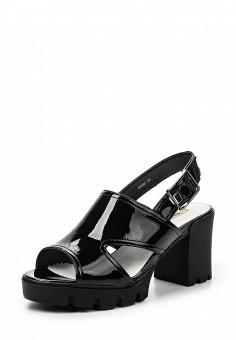 Босоножки, Vitacci, цвет: черный. Артикул: VI060AWPTV85. Женская обувь / Босоножки