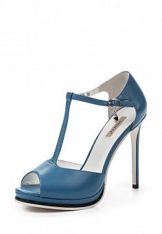 Босоножки, Vitacci, цвет: голубой. Артикул: VI060AWPTW22. Женская обувь / Босоножки