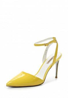 Туфли, Vitacci, цвет: желтый. Артикул: VI060AWPTW73. Женская обувь / Босоножки