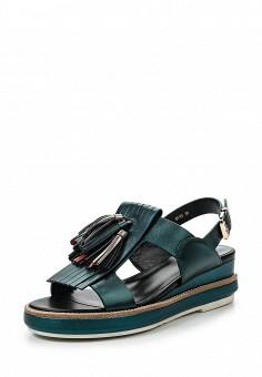 Босоножки, Vitacci, цвет: зеленый. Артикул: VI060AWPTW83. Женская обувь / Босоножки
