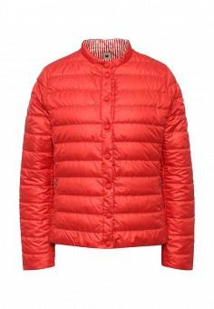 Пуховик, Weekend Max Mara, цвет: красный. Артикул: WE017EWORB61. Премиум / Одежда / Верхняя одежда / Пуховики и зимние куртки