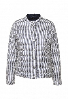 Пуховик, Weekend Max Mara, цвет: синий. Артикул: WE017EWORB62. Премиум / Одежда / Верхняя одежда / Пуховики и зимние куртки
