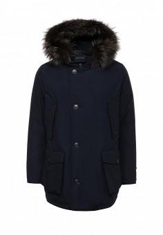 Пуховик, Woolrich, цвет: синий. Артикул: WO256EMUPH54. Мужская одежда / Верхняя одежда / Пуховики и зимние куртки