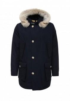 Пуховик, Woolrich, цвет: синий. Артикул: WO256EMUPH55. Мужская одежда / Верхняя одежда / Пуховики и зимние куртки