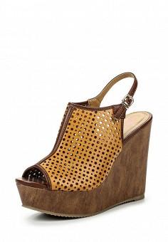 Босоножки, You Young Coveri, цвет: коричневый. Артикул: YO008AWQEK75. Женская обувь / Босоножки