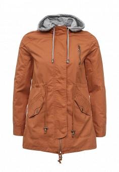 Парка, Z-Design, цвет: коричневый. Артикул: ZD002EWRIB18. Женская одежда / Верхняя одежда / Парки