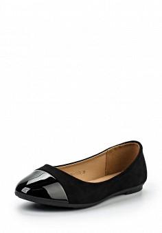 Балетки, Zenden Woman, цвет: черный. Артикул: ZE009AWPRF65. Zenden Woman