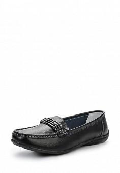 Мокасины, Zenden Comfort, цвет: черный. Артикул: ZE011AWENK36. Женская обувь / Мокасины и топсайдеры