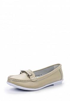 Мокасины, Zenden Comfort, цвет: бежевый. Артикул: ZE011AWHGN30. Женская обувь / Мокасины и топсайдеры