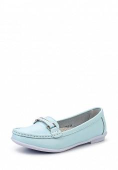 Мокасины, Zenden Comfort, цвет: голубой. Артикул: ZE011AWHGN31. Женская обувь / Мокасины и топсайдеры