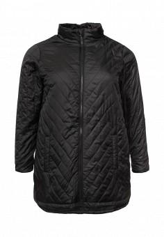 Куртка утепленная, Zizzi, цвет: черный. Артикул: ZI007EWSAH64. Женская одежда / Верхняя одежда / Демисезонные куртки