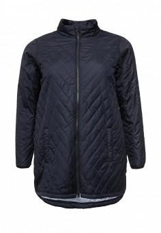 Куртка утепленная, Zizzi, цвет: синий. Артикул: ZI007EWSAH65. Женская одежда / Верхняя одежда / Демисезонные куртки
