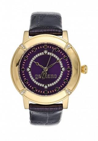 Часы Galliano, цвет: золотой, фиолетовый ...