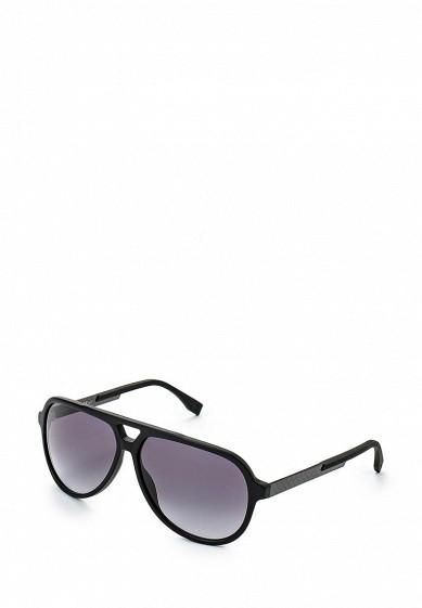 Купить Очки солнцезащитные Boss Hugo Boss BOSS 0731/S KD1 черный BO010DMHLS71 Италия