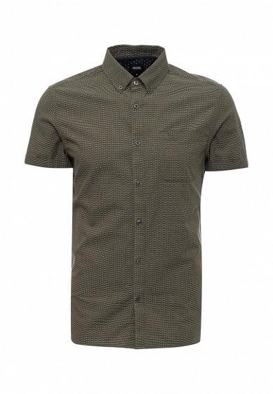 Рубашка Burton Menswear London хаки BU014EMSXS44 Индия  - купить со скидкой