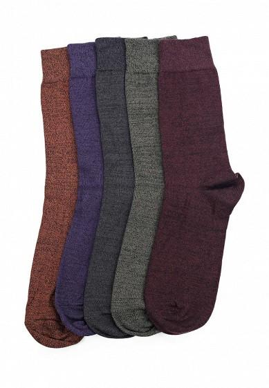 Купить Комплект носков 5 пар Burton Menswear London бордовый, зеленый, коричневый, серый, фиолетовый BU014FMXMO89 Турция