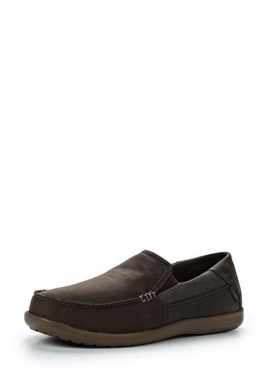 Купить Лоферы Crocs коричневый CR014AMWLQ13 Китай