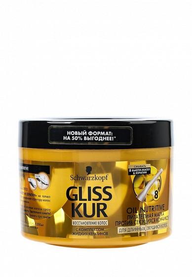 Купить Маска для волос Gliss Kur Питательная Oil Nutritive 300 мл GL011LWWTE34 Словакия