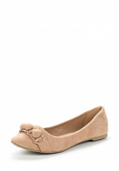 Купить Балетки Ideal Shoes бежевый ID005AWVUG70 Китай