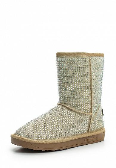 Купить Полусапоги Ideal Shoes золотой ID007AWWEI26 Китай