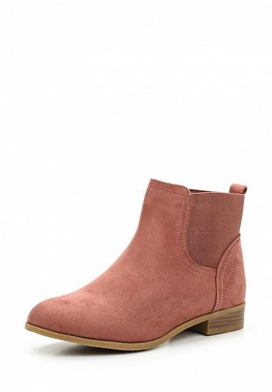 Купить Ботинки Ideal Shoes розовый ID007AWWEI29 Китай