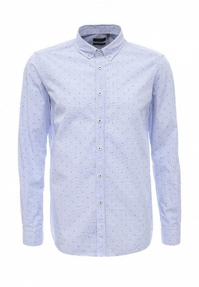 Рубашка голубой LI030EMJNR95 Италия  - купить со скидкой