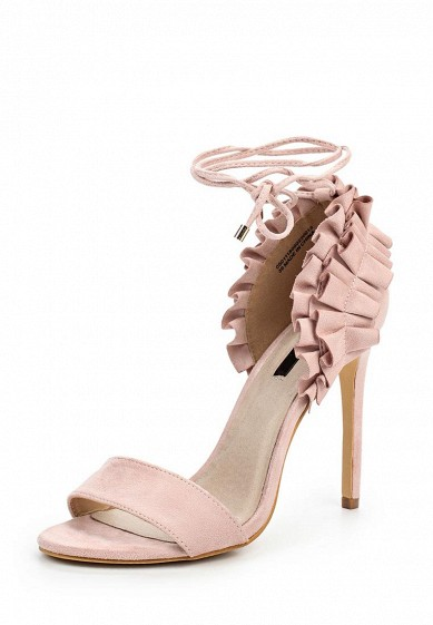Босоножки LOST INK MADDIE FRILLED DETAIL HEELED SANDAL
