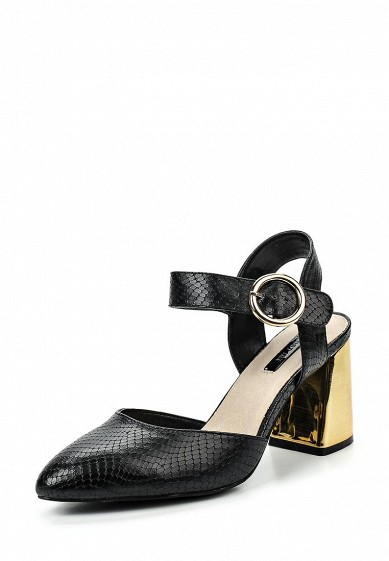 Туфли LOST INK FARO METAL BLOCK HEEL COURT