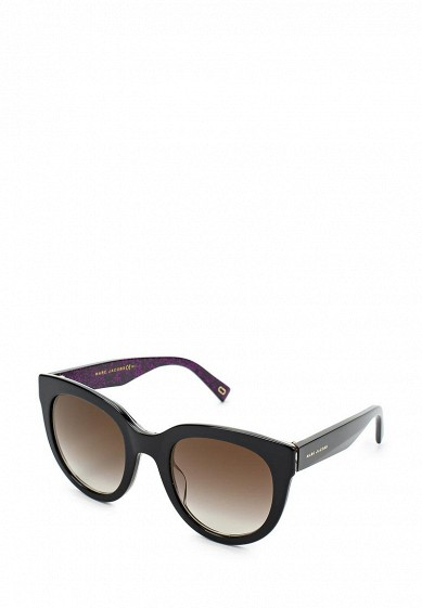 Купить Очки солнцезащитные Marc Jacobs MARC 233/S 2HQ черный MA298DWYBU27 Китай