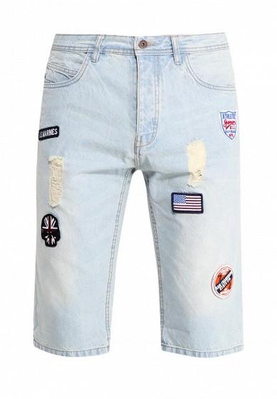 Купить Шорты джинсовые MeZaGuz голубой ME004EMTAE51 Бангладеш