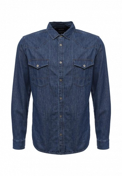 Купить Рубашка джинсовая Medicine синий ME024EMVQJ32 Бангладеш