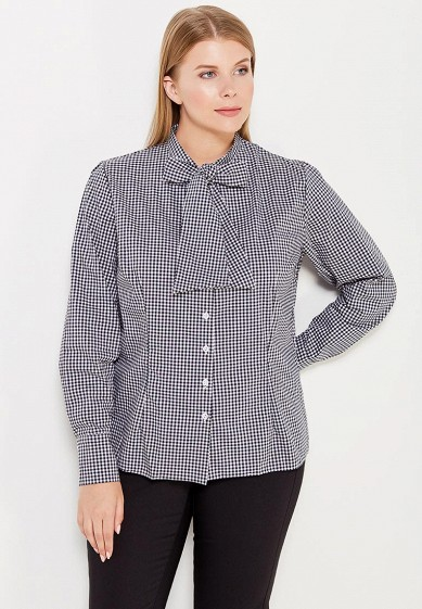 Купить Блуза Moe L&L черно-белый MO066EWWSU63 Польша