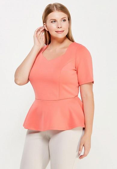 Блуза Moe L&L коралловый MO066EWWSU68 Польша  - купить со скидкой