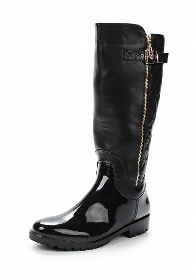 Купить Резиновые сапоги Mon Ami черный MO151AWWBG43 Россия