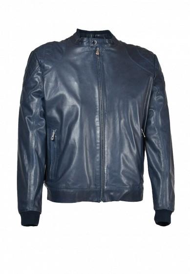 Куртка кожаная Grafinia синий MP002XM0VSI3  - купить со скидкой