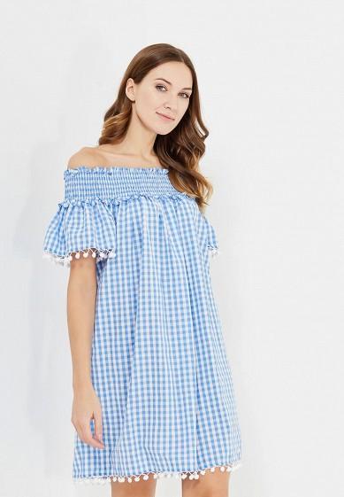 Купить Платье Tailor Che Вайкики голубой MP002XW1ASP3 Россия