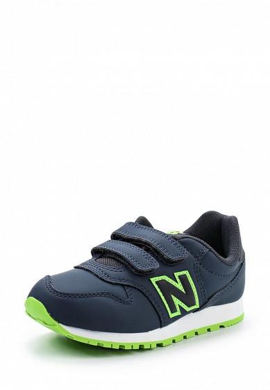 Купить Кроссовки New Balance синий NE007ABUOJ33 Индонезия